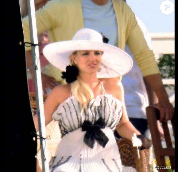Britney Spears en plein tournage de son nouveau clip Radar