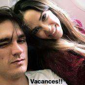 """Capucine Anav: Vacances en amoureux avec Alain-Fabien Delon, """"le meilleur homme"""""""