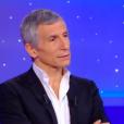 """Nagui dans """"Tout le monde veut prendre sa place"""" sur France 2, le 24 février 2019."""