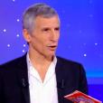 """L'animateur Nagui dans """"Tout le monde veut prendre sa place"""" sur France 2, le 24 février 2019."""