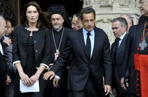 Carla Bruni et Nicolas Sarkozy, présents pour l'hommage aux victimes du vol AF447...  (réactualisé)