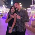 Franck Ribéry et sa fille aînée Hiziya s'éclatent à Dubaï pour le Nouvel an 2019.