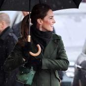 Kate Middleton et William en couple pour une virée pluvieuse à Blackpool