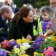 Kate Catherine Middleton, duchesse de Cambridge en visite au Revoe Park à Blackpool. Le 6 mars 2019