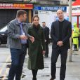 Le prince William, duc de Cambridge et Kate Catherine Middleton, duchesse de Cambridge, en visite à Kirby Road à Blackpool. Le 6 mars 2019