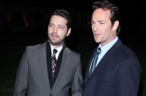 Mort de Luke Perry - Jason Priestley sort de son silence :