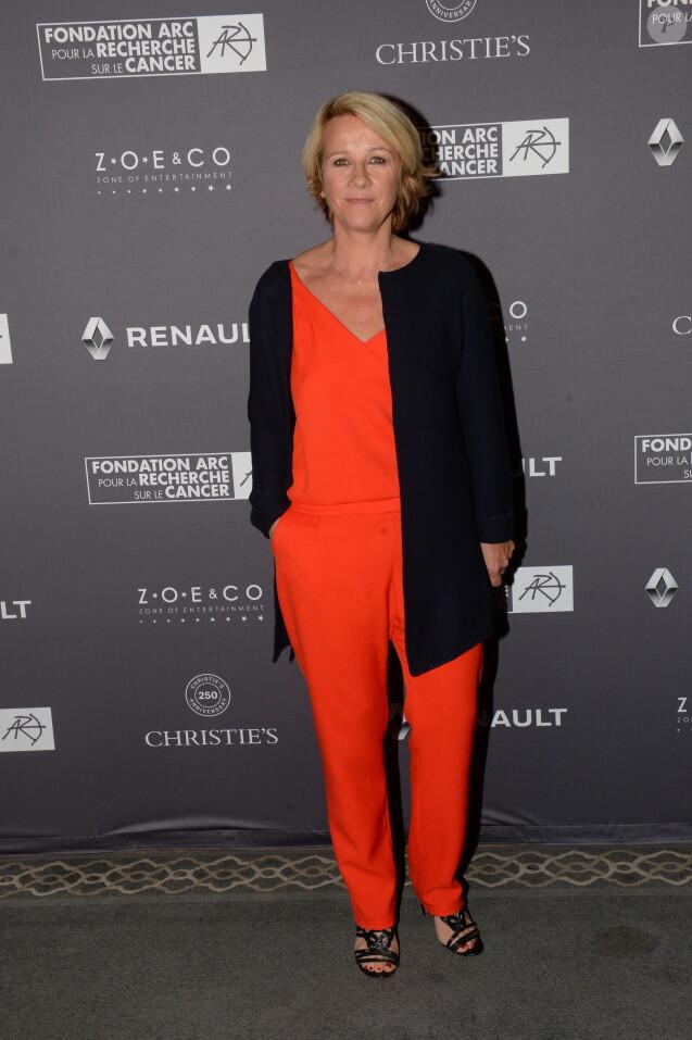 Exclusif - Ariane Massenet lors du dîner de la fondation ARC au restaurant de l'hôtel The Peninsula à Paris le 10 octobre 2016 © Rachid Bellak / Bestimage