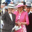 Sarah Ferguson et Lady Di à Ascot en 1987.