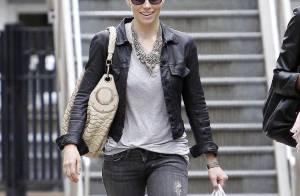 Jessica Biel a retrouvé son jean et ses baskets... mais n'a pas perdu sa beauté naturelle !