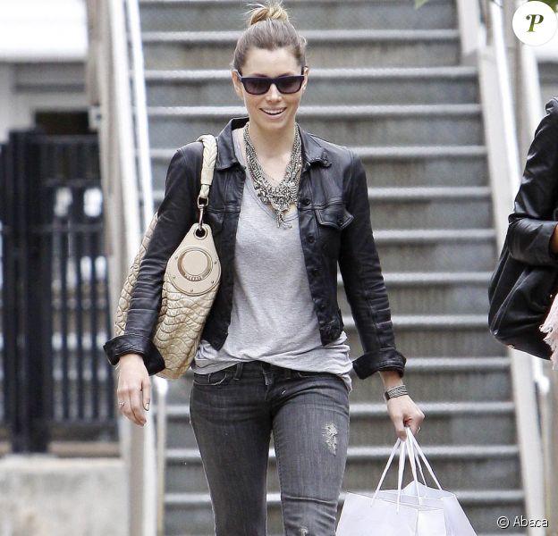 Jessica Biel hier dans les rues de New York