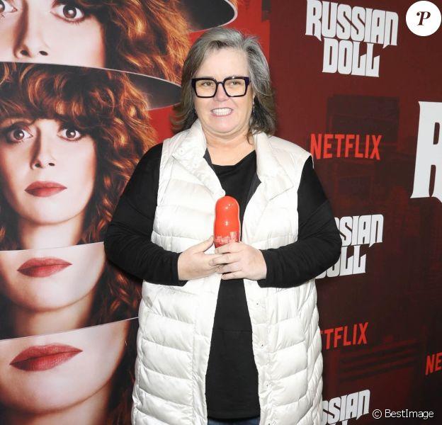 """Rosie O'Donnell à la première de la série Netflix """"Russian Doll - Saison 1"""" à New York, le 23 janvier 2019."""