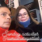 Camille Gottlieb et Pauline Ducruet : Les soeurs se font tatouer avec leur maman