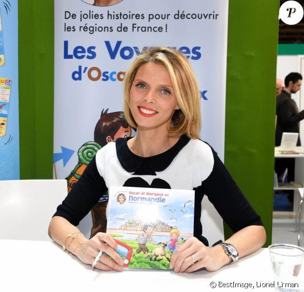 Sylvie Tellier - Salon du Livre à la Porte de Versailles de Paris, le 17 mars 2019. © Lionel Urman/Bestimage