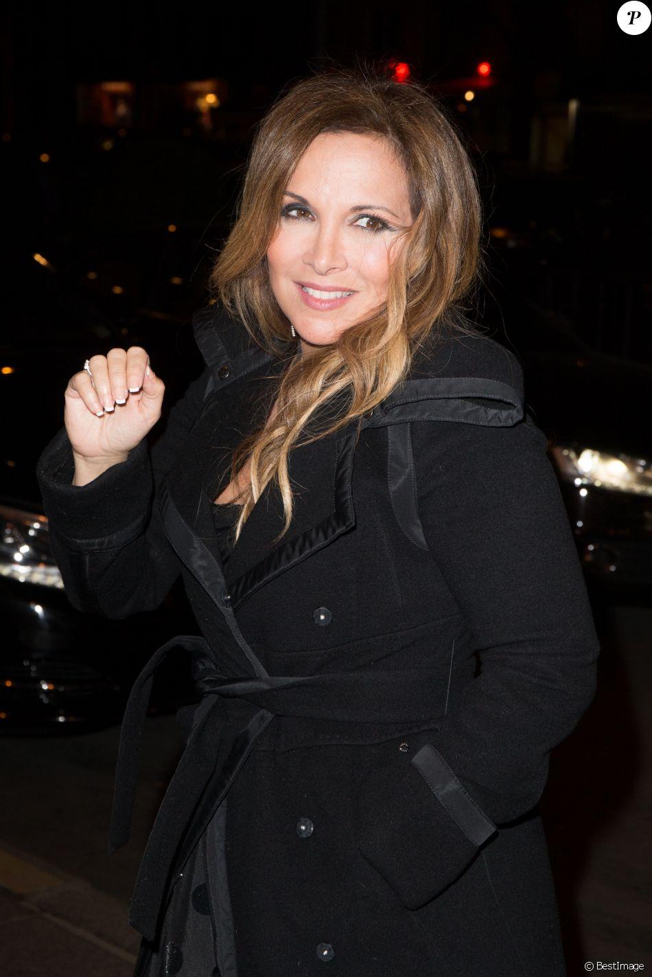 Hélène Segara à Paris, le 27 Janvier 2017.