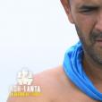 """Mohamed lors du deuxième épisode de """"Koh-Lanta, la guerre des chefs"""" (TF1) jeudi 21 mars 2019."""