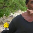 """Steeve lors du deuxième épisode de """"Koh-Lanta, la guerre des chefs"""" (TF1) jeudi 21 mars 2019."""