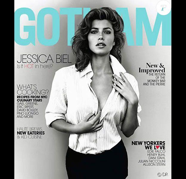 Jessica Biel en couverture de Gotham