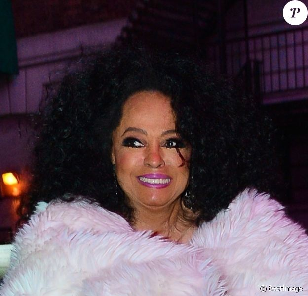 Diana Ross à New York, le 12 mars 2019.