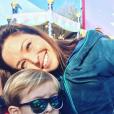 Natasha St-Pier et son fils sur Instagram, le 16 février 2019.