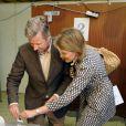 Mathilde et Philippe de Belgique ont voté pour les élections européennes 2009