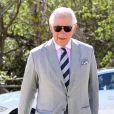 Le prince Charles visite le parc botanique royal Elizabeth II lors de son voyage officiel aux Iles Caïmans, le 28 mars 2019.