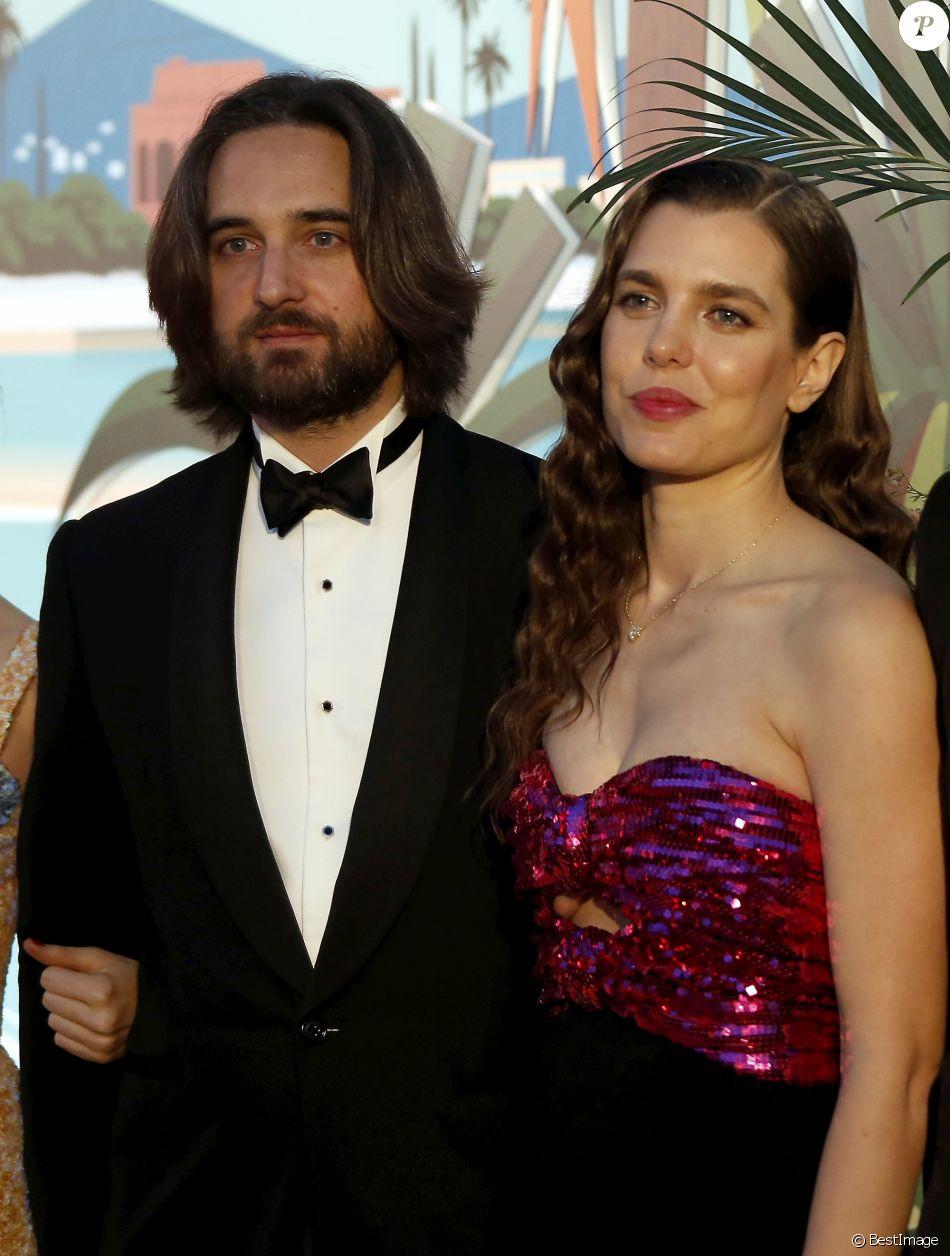 Charlotte Casiraghi et son compagnon Dimitri Rassam , 65ème édition du Bal  de la Rose donné