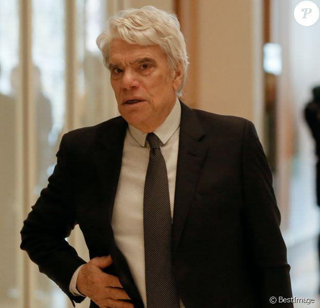 Bernard Tapie - Arrivées au Tribunal de Paris, Batignolles - 11e chambre correctionnelle, 2e section pour le procès de Bernard Tapie le 18 mars 2019.