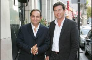 Pascal Bataille a quitté l'hôpital... et a assuré comme un chef avec Laurent Fontaine pour présenter leur école !