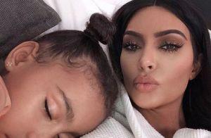 Kim Kardashian : Le poisson d'avril morbide de ses enfants North et Saint