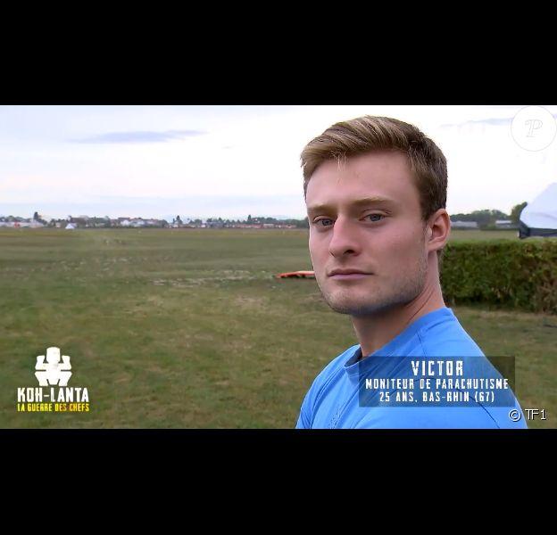 "Victor, candidat de ""Koh-Lanta, la guerre des chefs"" (TF1)."