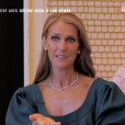 """Céline Dion évoque son rôle d'égérie L'Oréal Paris lors d'une conférence de presse à Las Vegas, fin mars. Extrait de l'émission """"50' inside"""" du 6 avril 2019."""