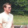Benjamin Castaldi lors du tournoi des personnalités de Roland-Garros qui s'est tenu du 2 au 5 juin 2009 !