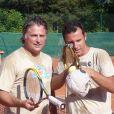 Nicolas Deuil lors du tournoi des personnalités de Roland-Garros qui s'est tenu du 2 au 5 juin 2009 !