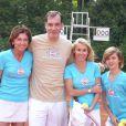 Samuel Labarthe lors du tournoi des personnalités de Roland-Garros qui s'est tenu du 2 au 5 juin 2009 !
