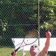 Michel Boujenah lors du tournoi des personnalités de Roland-Garros qui s'est tenu du 2 au 5 juin 2009 !
