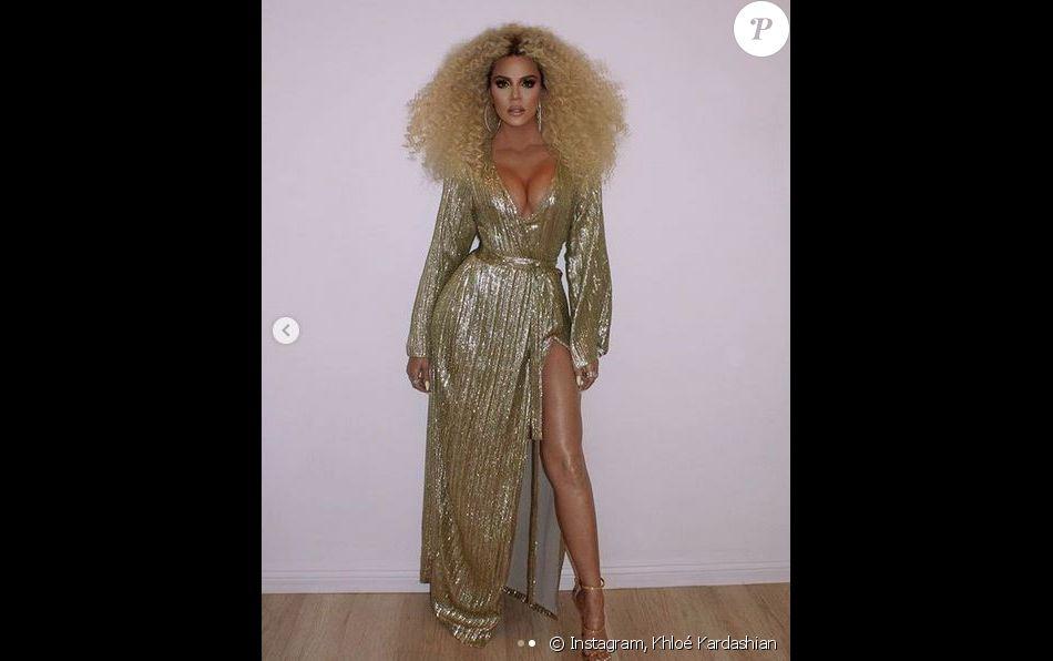 3e68a0d0c05 Khloé Kardashian   Moquée par les internautes à cause d une photo retouchée