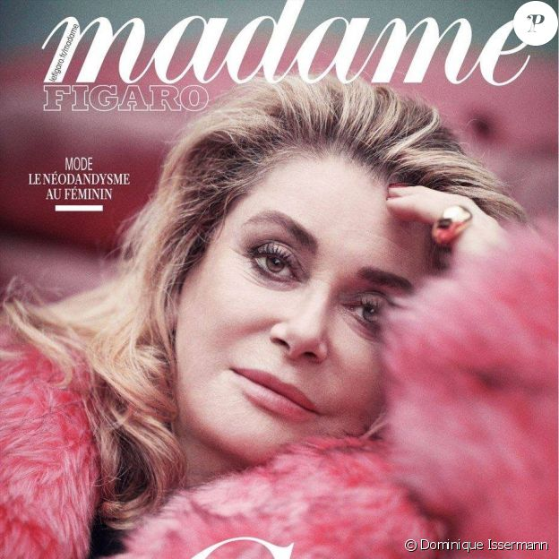 Couverture du magazine Madame Figaro du 12 avril 2019