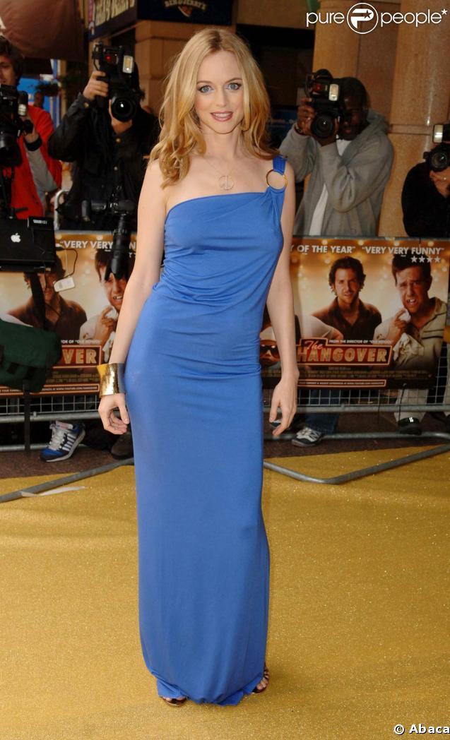 """Heather Graham, sublime lors de l'avant-première de """"Very Bad Trip"""" au Vue Westend de Londres, le 10 juin 2009 !"""
