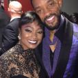 Tatyana Ali et Will Smith lors d'une soirée. Photo publiée sur Instagram en 2015