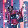 La candidate représentant Israël, Netta Barzilai, remporte l'Eurovision 2018 au Portugal © Pedro Fiuza via Zuma Press/Bestimage