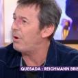 """Jean-Luc Reichmann dans """"C à vous"""" - 15 avril 2019, sur France 5"""