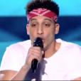 """Clacky dans """"The Voice 8"""" sur TF1, le 20 avril 2019."""