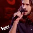 """Clément dans """"The Voice 8"""", le 20 avril 2019 sur TF1."""