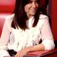 """Jenifer dans """"The Voice 8"""", le 20 avril 2019."""