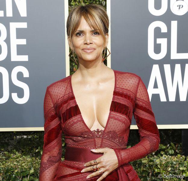 Halle Berry - Photocall de la 76ème cérémonie annuelle des Golden Globe Awards au Beverly Hilton Hotel à Los Angeles, le 6 janvier 2019.