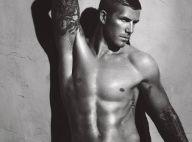David Beckham : découvrez ses magnifiques nouvelles poses ultra sexy pour les sous-vêtements Armani...