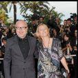 Olivier Baroux et sa femme Coralie à Cannes en 2009.