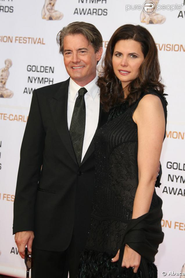 Kyle MacLachlan et sa femme Desiree Gruber à Monte-Carlo