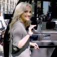 "Jamie Lynn Spears quitte l'émission ""Today Show"" à New York le 22 juin 2016."