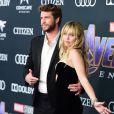 """Miley Cyrus et son mari Liam Hemsworth - Avant-première du film """"Avengers: Endgame"""" à Los Angeles, le 22 avril 2019."""